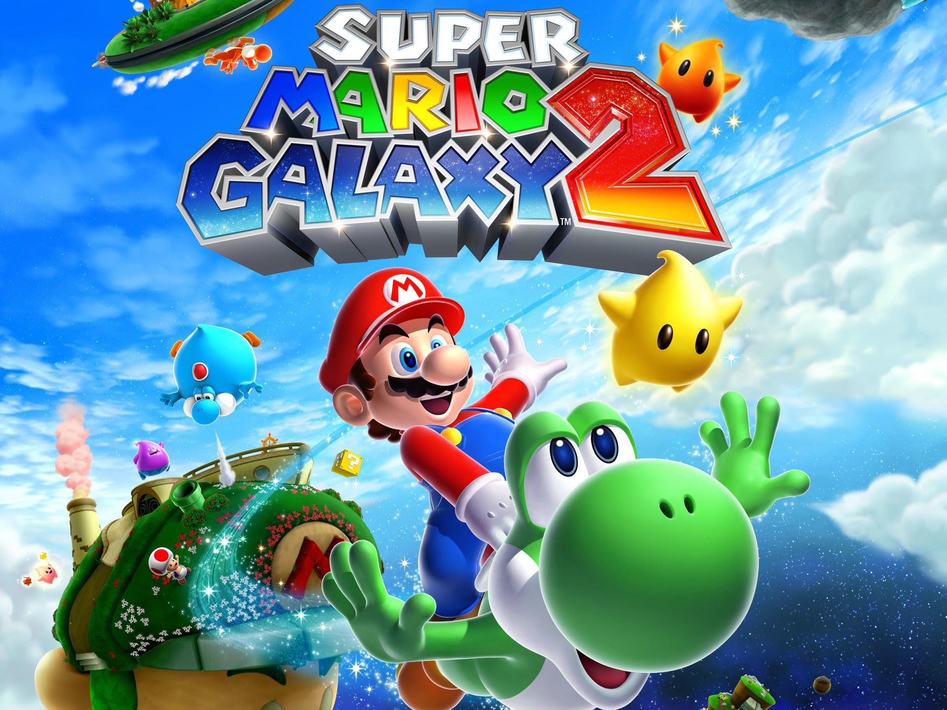 Super Mario Galaxy 2 Wallpaper Hd 77 Images