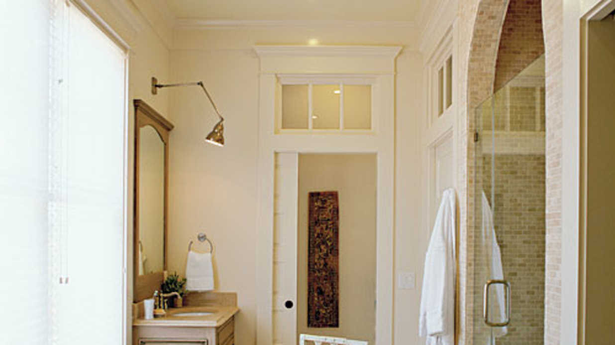 Bright and Airy Master Bath - Luxurious Master Bathroom ...