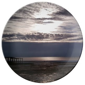 Christmas Morning Sunrise Porcelain Plates