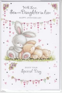 Anniversaries Son And Daughter In Law English Greeting Cards In