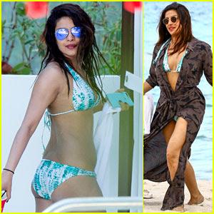 Priyanka Chopra Gets Some Sun in Her Bikini!