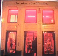 Pelacur-Pelacur di Red Light District, Amsterdam, Netherlands
