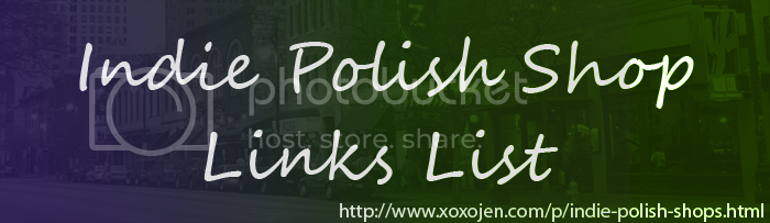 xoxoJen's Indie Polish shop link list