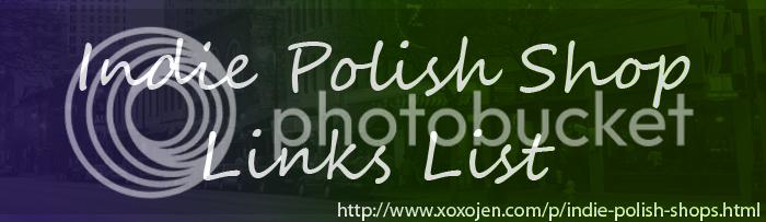 xoxoJen's Indie Polish shop link list
