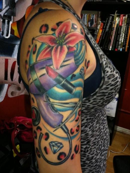 Fascinating Half Self Sleeve Tattoo Designs For Women Tattoomagz