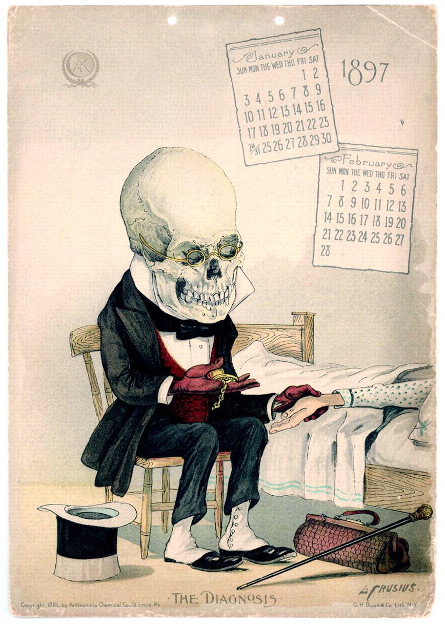 1897 antikamnia calendar january/february