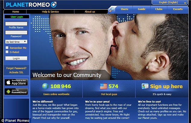 gay dating web