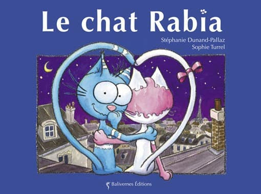 Couverture de l'album le chat Rabia de la collection Les Petits Chats