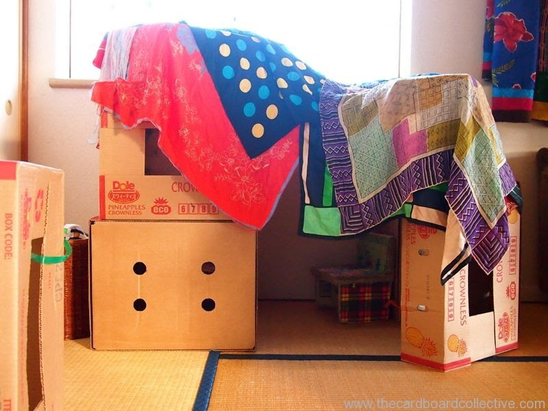 Nanny Bicester: Activity of the Week-Building Dens