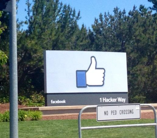 Facebook Main Entrance