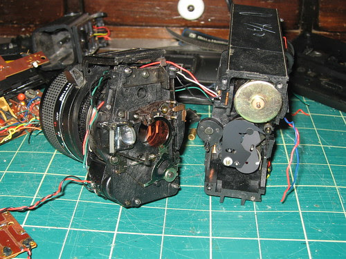 Video Camera - More Mechanical Guts