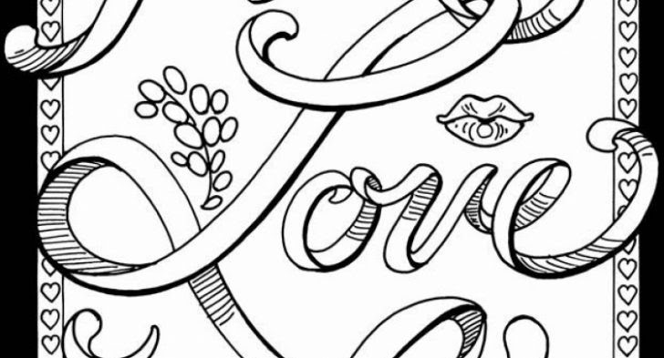 Swear Words Free Printable Coloring Pages For Adults Only Quotes - All  Round Hobby