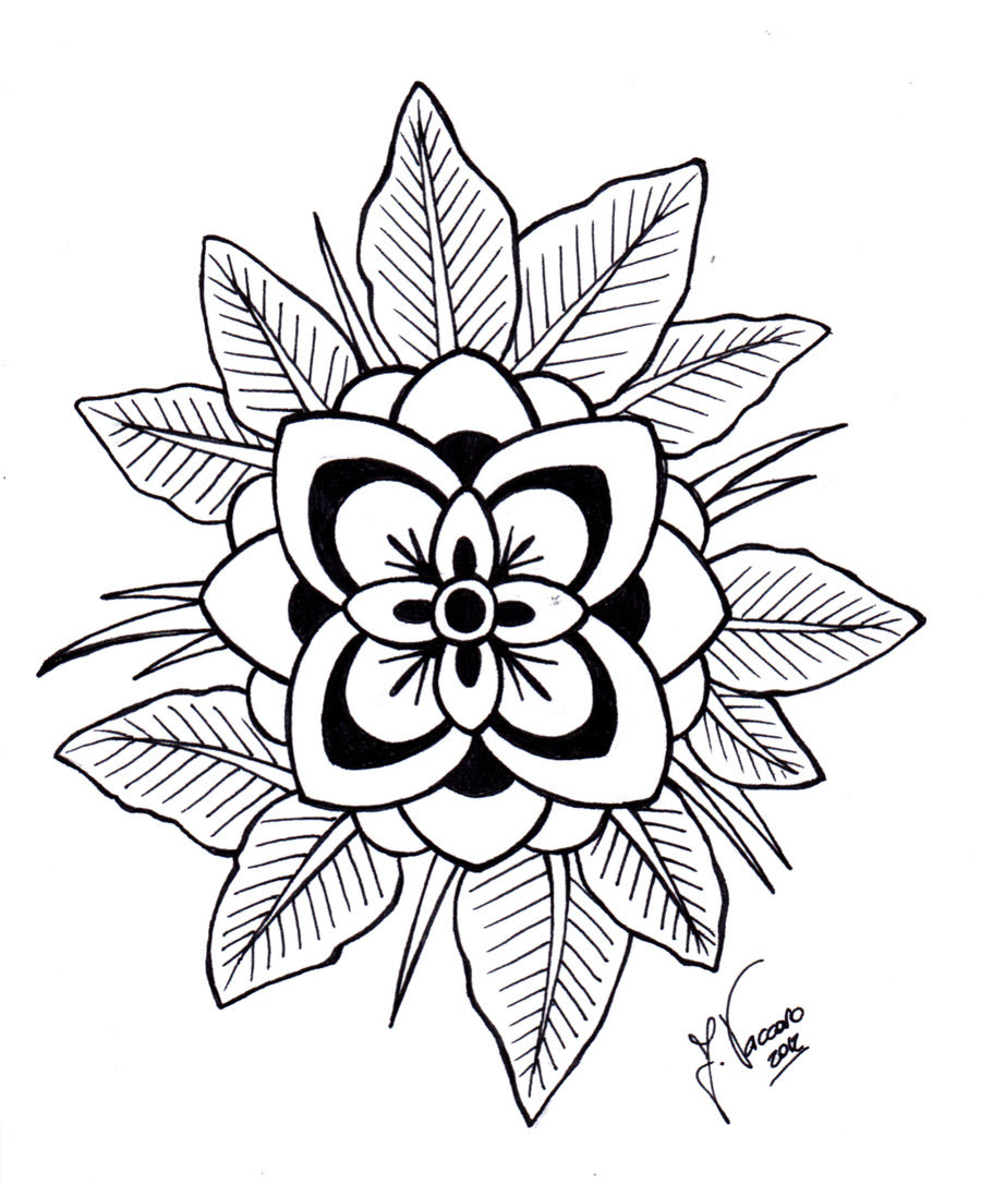 Free Flower Line Art Download Free Clip Art Free Clip Art On Clipart Library