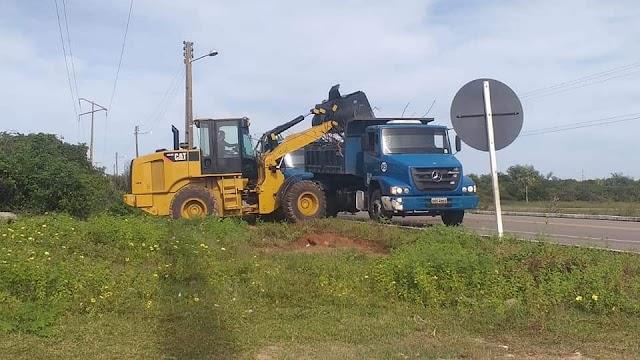 Prefeitura de Parnaíba intensifica serviços de limpeza pública