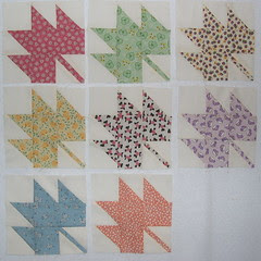 8 maple leaf blocks