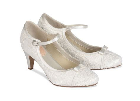 Paradox London Pink Cupcake Vintage Style Wedding Shoes