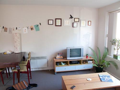 my new flat - living area