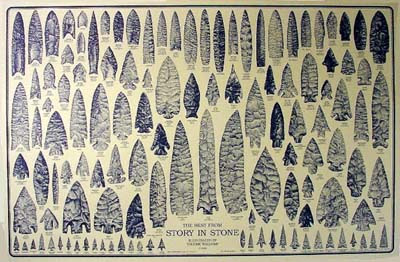 Archaic Stone Tools on Flint Knapping   Primitive Archery Books And Dvds By D C  Waldorf And