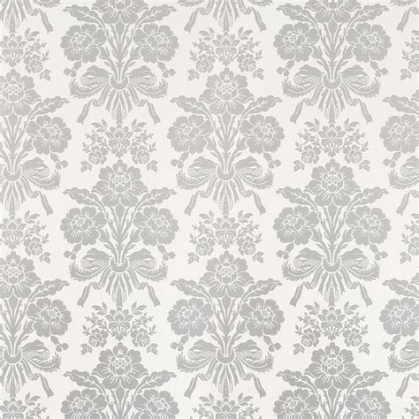 silver white damask wallpaper gallery