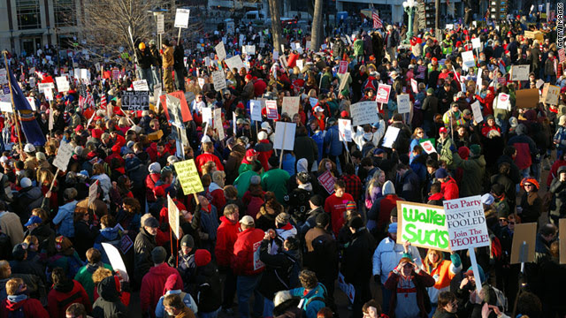 Teachers debate returning to work after Wisconsin protests