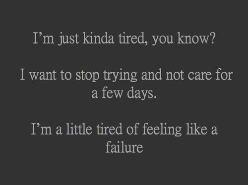Quote Black And White Depressed Depression Sad Quotes Tired Sadness