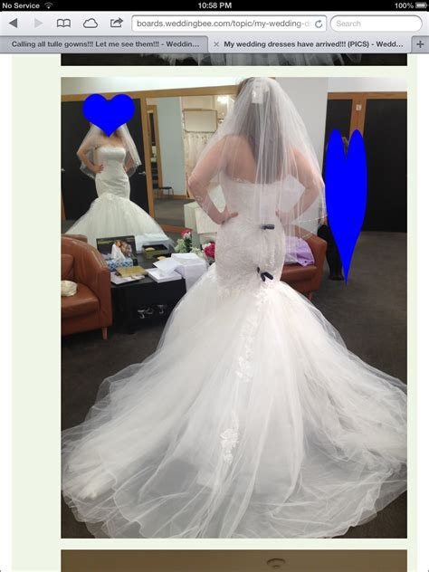 Bustle for tulle wedding dress suggestions?