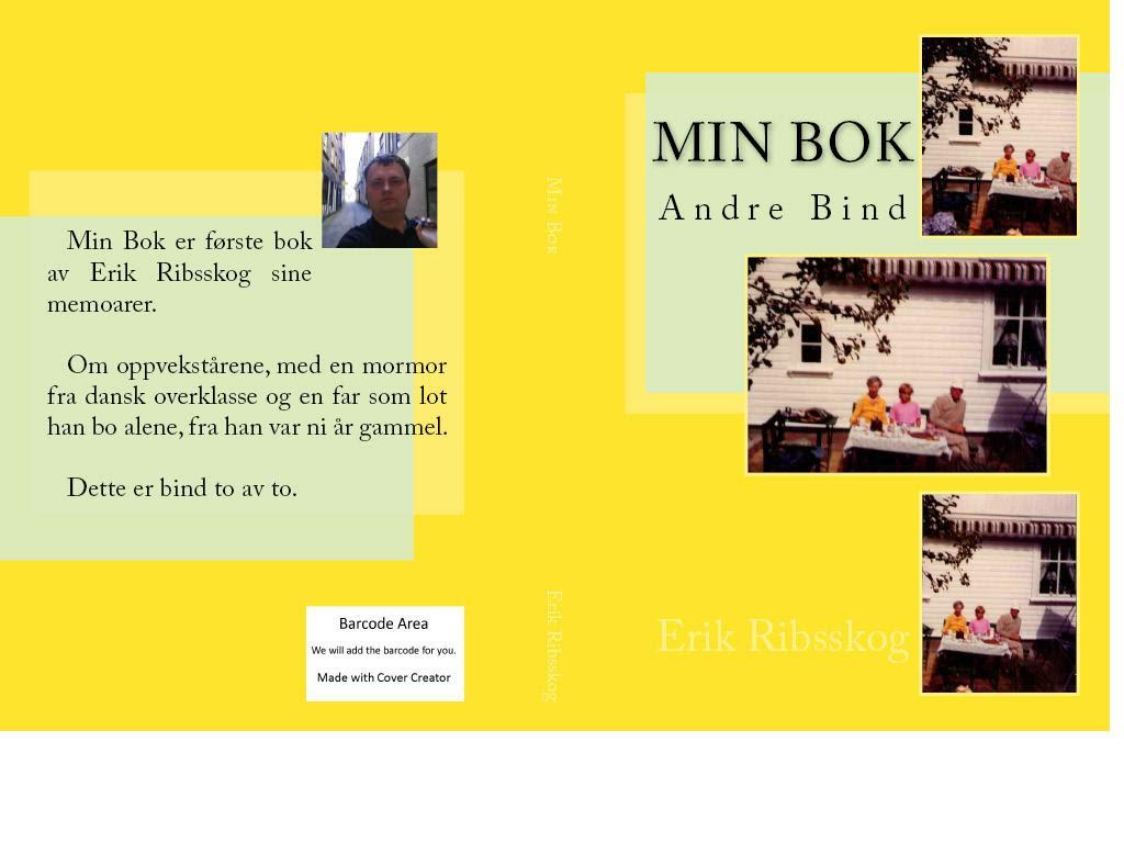 min bok andre bind cover