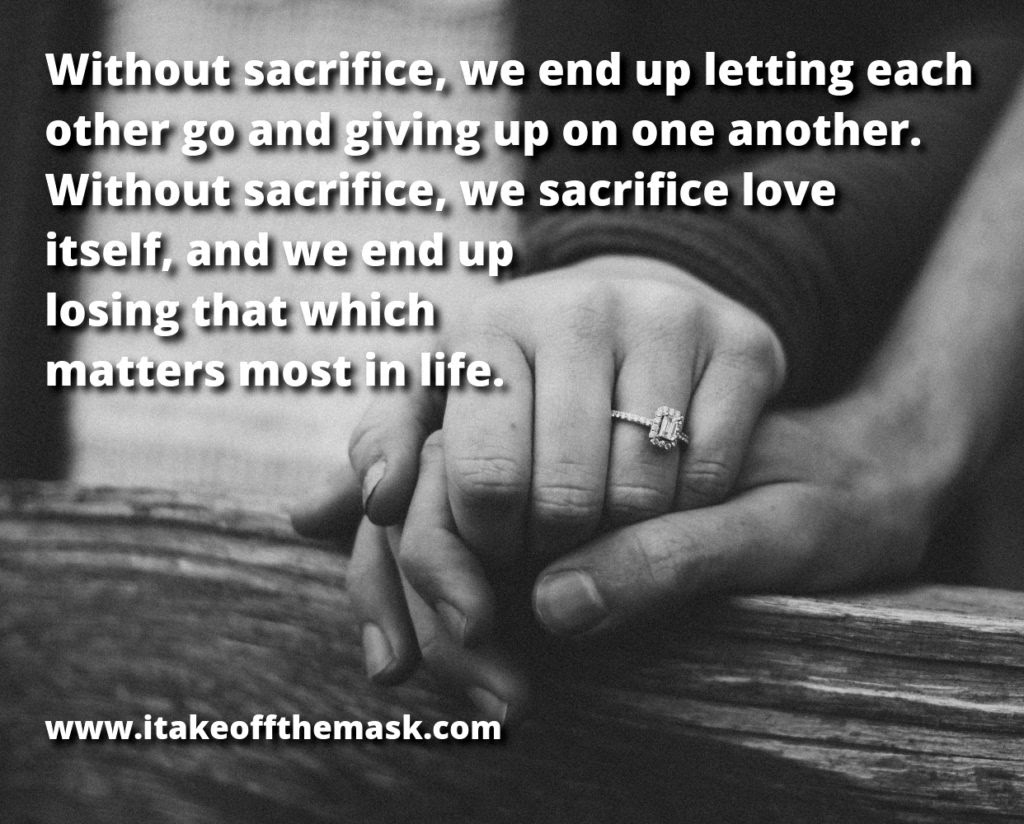 Sacrifice And Love Quotes Poems Prayers And Words Of Wisdom At