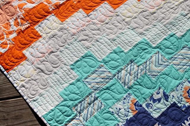 Sunset Quilt -- Quilting by Sew Shabby Quilting