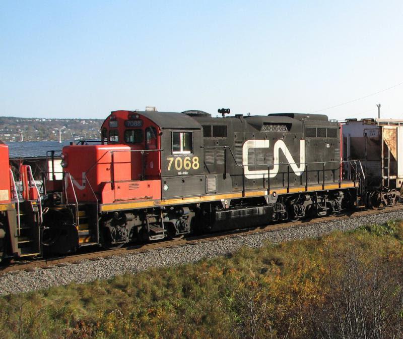 CN 7068 in Saint John