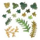 658412 Sizzix Thinlits Susan's Garden Leaves, Fern & Ivy