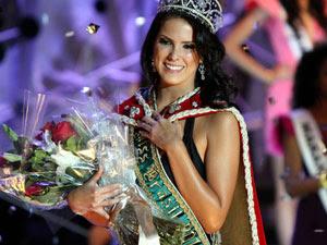 Débora Lyra foi eleita Miss Brasil em 2010 (Foto: Roberto Vazquez/ Futura Press)
