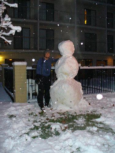 Oxford Snowman