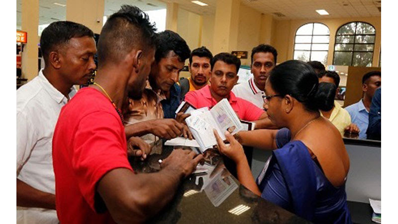 Migrant Workers Return from Kuwait after unpaid wages
