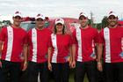 Clã Varela: Bruno (E), Reinaldo, Nani, Gabriel e Rodrigo (D) (Foto: Donizetti Castilho/DFotos)