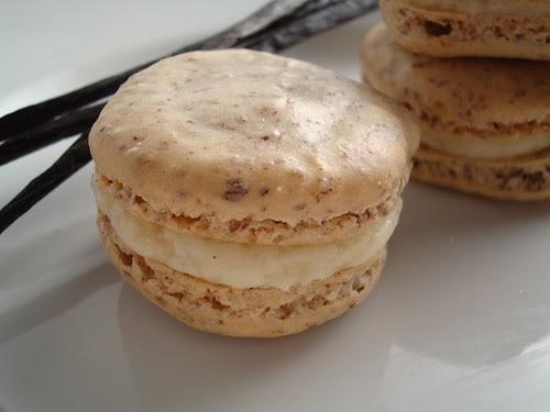 Macarons with Vanilla Bean Honey Buttercream