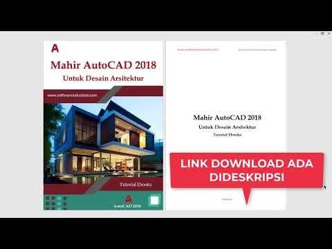 AutoCAD 2018 Untuk Desain Arsitektur Rumah 2 Lantai