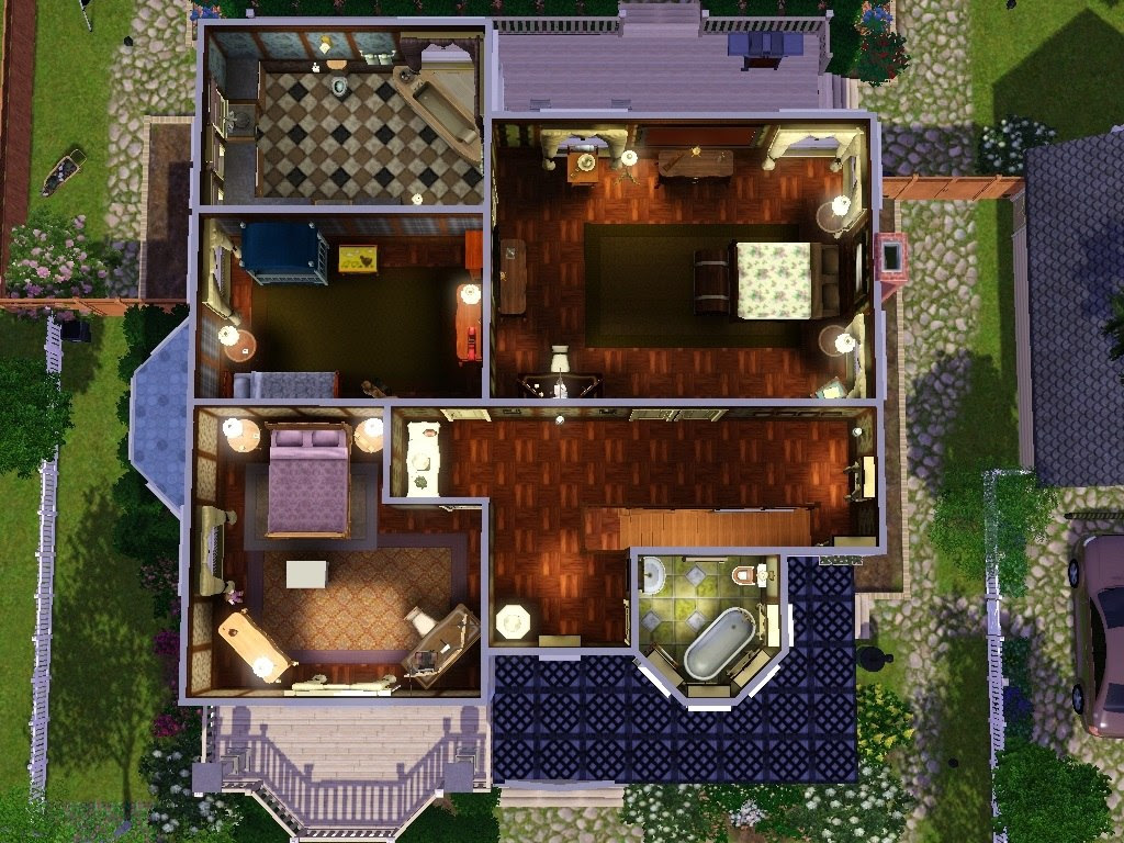Mod The Sims - Verity; a Victorian Styled house