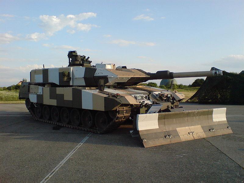 Tank Leopard 2A7 jenis Terbaru di Kelas Leopard