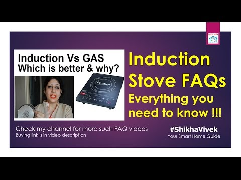 Induction Stove (Cooktops) FAQs