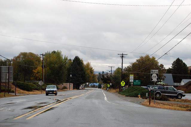SR 215 @ SR 20 westward
