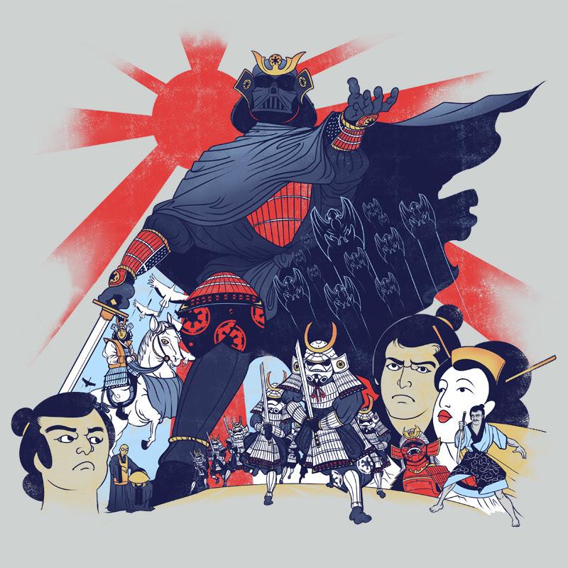 Samurai Wars - Created by Louis Wulwick
