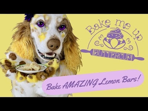 Bake AMAZING Lemon Bars! - Episode 2 -  Bake Me Up Buttercup