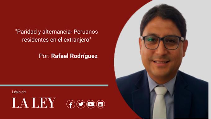 Paridad y alternancia- Peruanos residentes en el extranjero