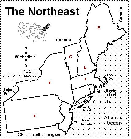 Blank Map Of The New England States Google Search Us States Cc Cycle 3 Pinterest The O