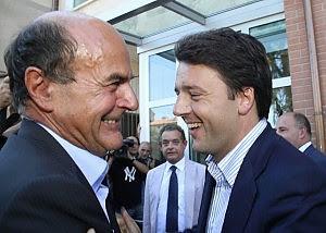 """Bersani: """"Stupida distinzione giovani-vecchi"""" Renzi: """"Non sto agli ordini di nessuno"""""""