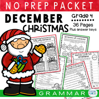 Jolly Santa Christmas Packet