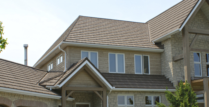 Stone coated Metal Is Lightweight Roofing