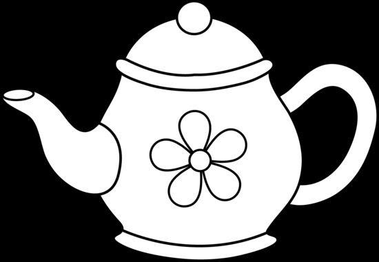 Cute Teapot Line Art Free Clipart Panda Free Clipart Images