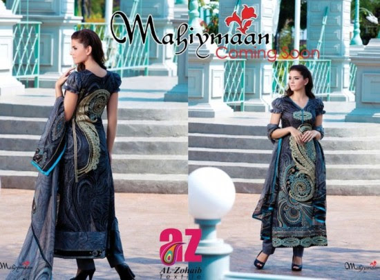 Mahiymaan-Lawn-Collection-2013-By-Al-Zohaib-Textiles-New-Latest-Fashionable-Clothes-9